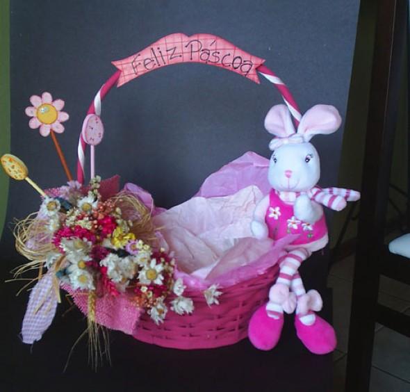 Decoração de cesta de páscoa 13 modelos com fotos lindas!