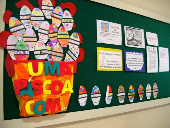 decoracao sala de leitura na escola: de páscoa, e que vão ajudar na decoração da sala de aula para