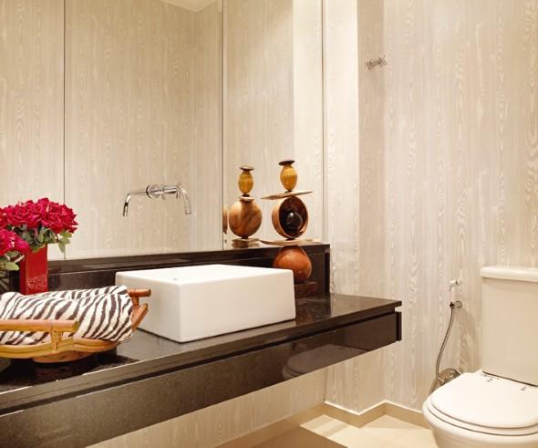 decoracao de lavabo para o natal:Decorar lavabo pequeno: 16 dicas simples e práticas