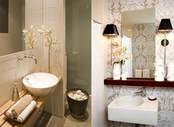 Decorar lavabo pequeno 16 dicas simples e práticas -> Decoracao De Banheiros E Lavabos Pequenos