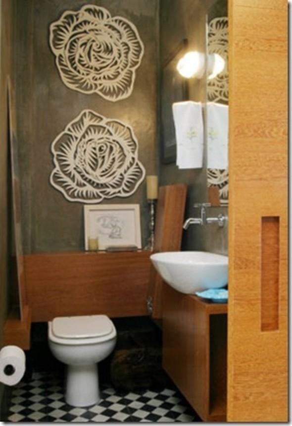 16 fotos de lavabo decoração da parede do lavabo decoração de
