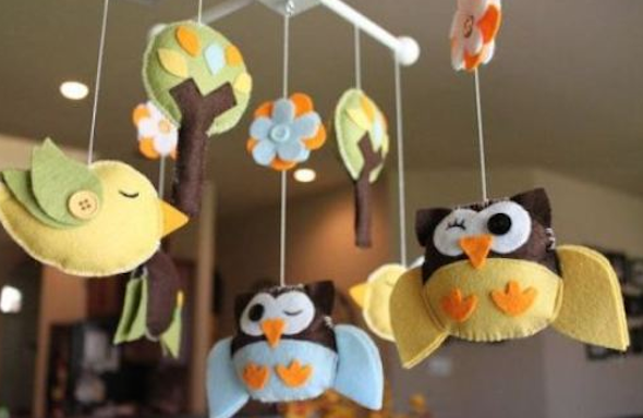 Artesanato Brasileiro Loja Virtual ~ Mobile artesanal para decorar o quarto de seu beb u00ea 10 idéas
