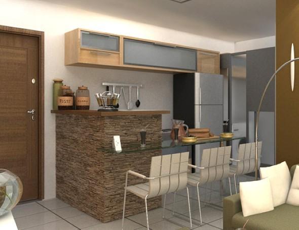 decorar cozinha moderna:Como decorar uma cozinha pequena: 14 modelos práticos e funcionais