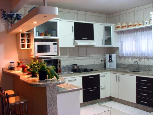 decorar uma cozinha:Como decorar uma cozinha pequena: 14 modelos práticos e funcionais