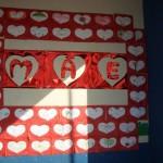 Decoração sala de aula Dia das Mães 001