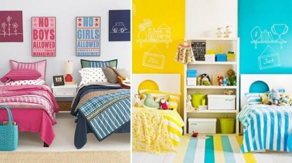 Como decorar quarto de irmãos que dormem juntos 19 idéias que vão te ajudar