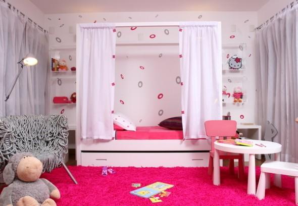 Decoracao De Quarto Estilo Japones ~ Dicas para decorar quarto de menina at? 7 anos