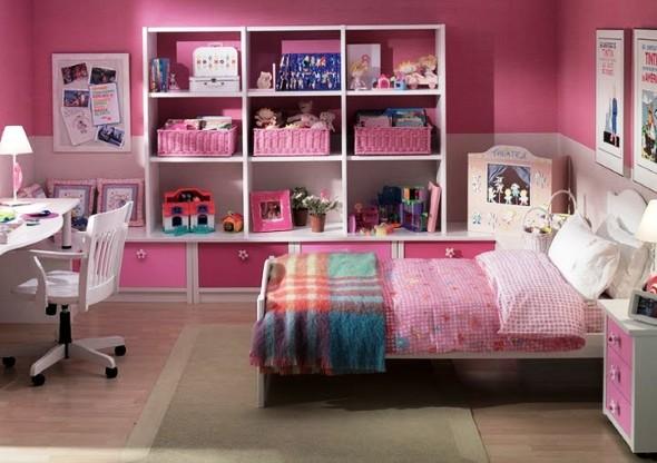 16 quartos decorados para meninas at 7 anos for Decorar habitacion nina 8 anos