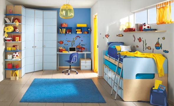 15 dicas para decorar quarto de menino at 7 anos - Cama para nino de 2 anos ...