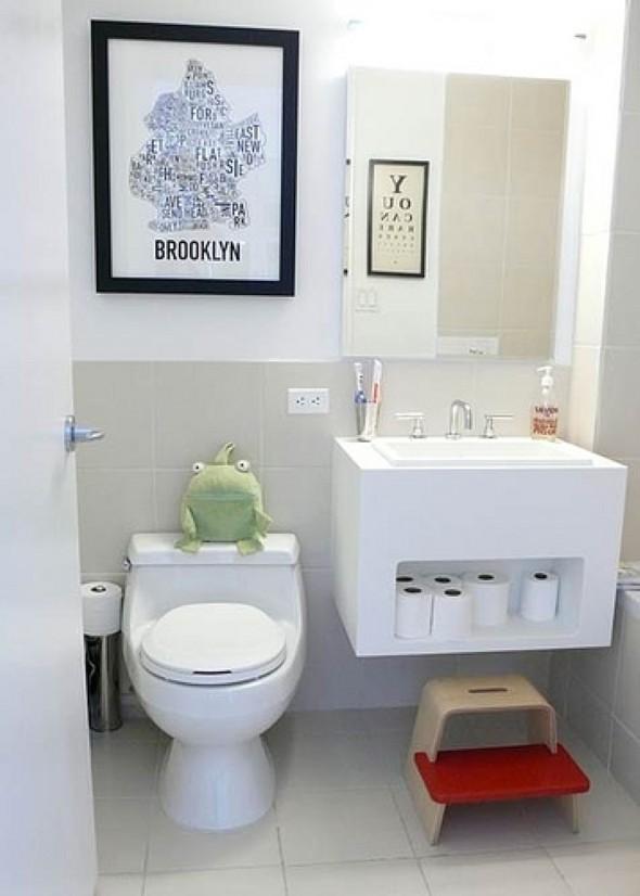 Quadros para decorar banheiro 13 modelos e idéias dos melhores quadros -> Banheiro Decorado Quadros