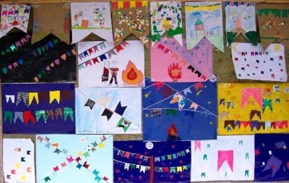 decoracao de sala festa junina educacao infantil:20 dicas de decoração Festa Junina para educação infantil