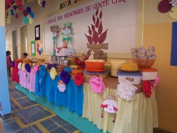 Outros modelos de decoração de Festa Junina para educação infantil