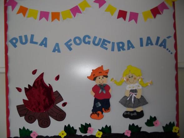 20 dicas de decoração Festa Junina para educação infantil -> Decoracao Banheiro Educacao Infantil