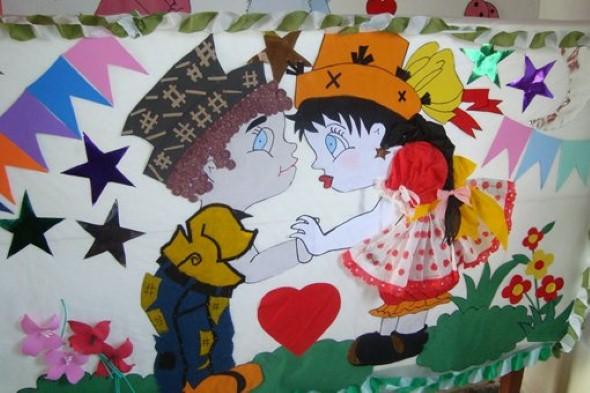 decoracao festa junina educacao infantil:20 dicas de decoração Festa Junina para educação infantil