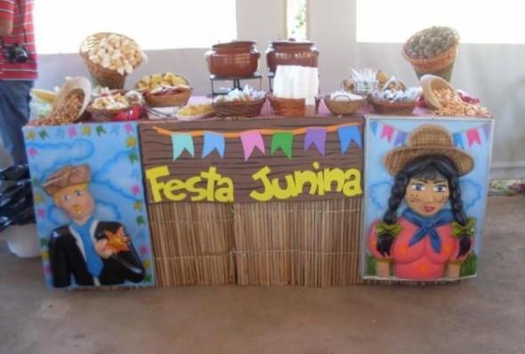 Decoração Festa Junina escola 006