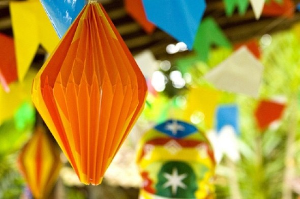 17 idéias de decoraç u00e3o Festa Junina na escola -> Decoração De Balões Festa Junina