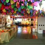 Decoração Festa Junina escola 010