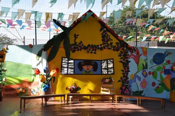 Decoração Festa Junina escola 013