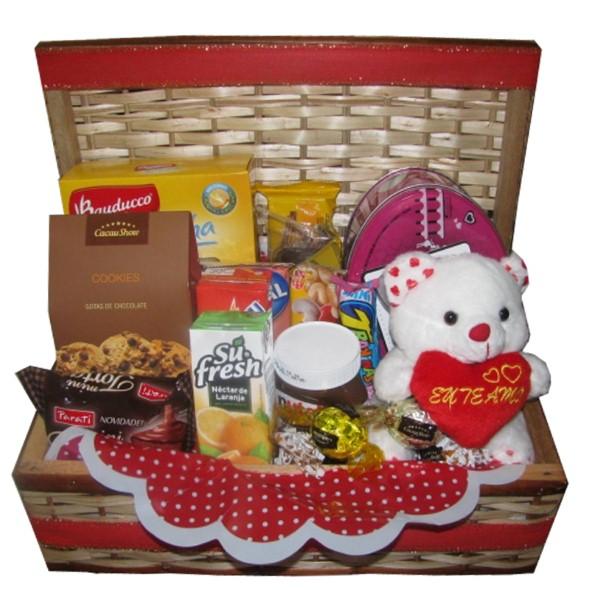 14 dicas de decoração de cesta para o Dia dos Namorados