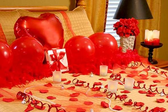 Romantic bedroom ideas for her - Decora 231 227 O Para O Dia Dos Namorados