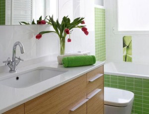 17 ideias para decorar seu banheiro e lavabo com flores ou for Departamentos bien decorados