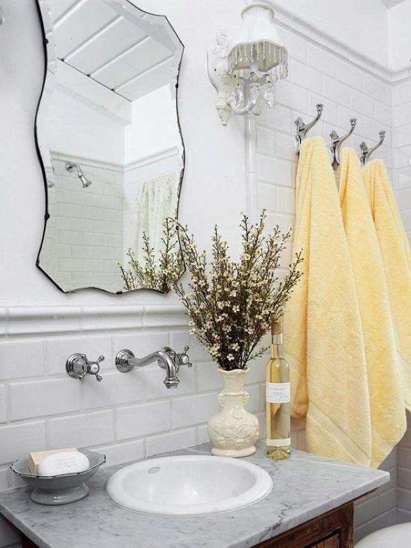 17 ideias para decorar seu banheiro e lavabo com flores ou plant # Ideias Criativas Para Decoracao De Banheiro