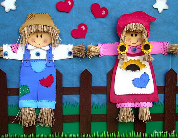 decoracao festa junina educacao infantil: infantil para chegada da Festa Junina, uma das maiores festas