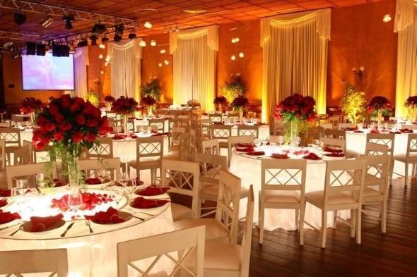 17 dicas de decoração para festa de casamento de noite -> Decoracao De Banheiro Para Salao De Festa
