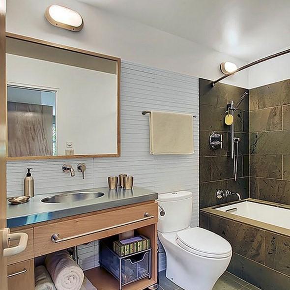 17 modelos de espelhos para decorar o banheiro -> Acessorios Para Decoracao De Banheiro