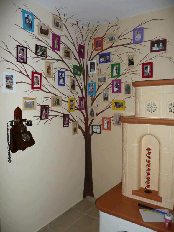 Decorar Pared Arbol ~ 20 modelos de quadros personalizados para decorar a casa