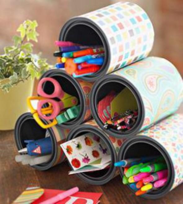 Decorar casa com materiais recicláveis 013