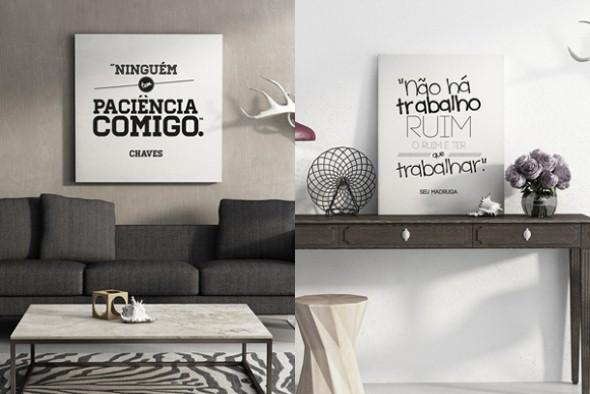 Letras e frases na decoração: 4 dicas criativas e 25 fotos de