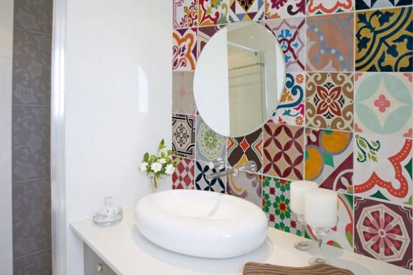Adesivos na decoração de banheiro 003