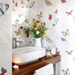 Adesivos na decoração de banheiro 004