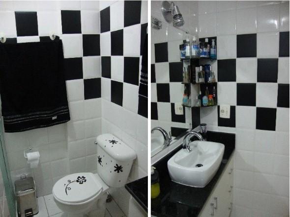 20 modelos de adesivos que podem ser usados na decoração do banheiro -> Decoracao De Banheiro Com Azulejos Antigos