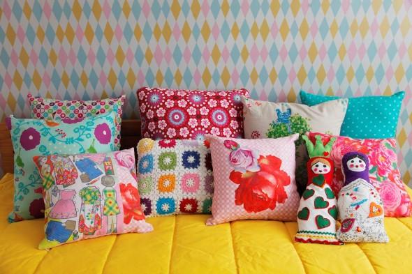 Almofadas para decorar quarto de criança 014