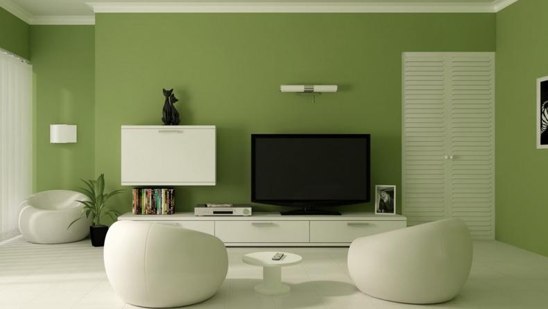 parede da sala cores