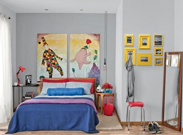 Decoração da casa com artesanato 012