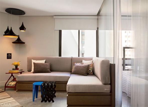 Apartamento Homem Solteiro Decoracao ~   de apartamentos de solteiro decorados de v?rias maneiras diferentes