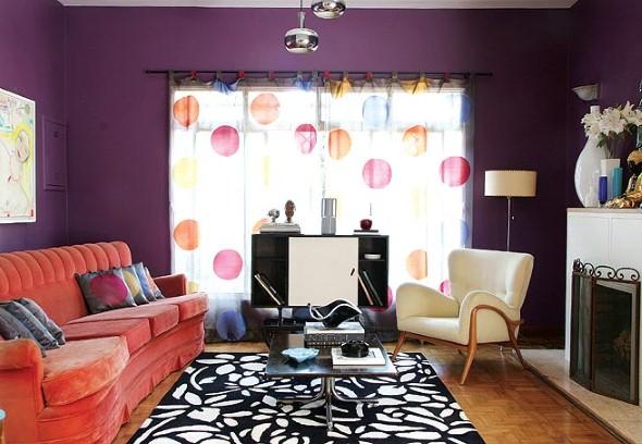Pintura Para Salas Pequeñas : Modelos de pintura para salas pequeñas: como combinar colores para