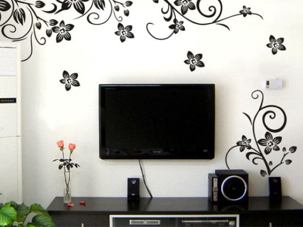 em casa com o uso de papel contact em cores e modelos diversificados