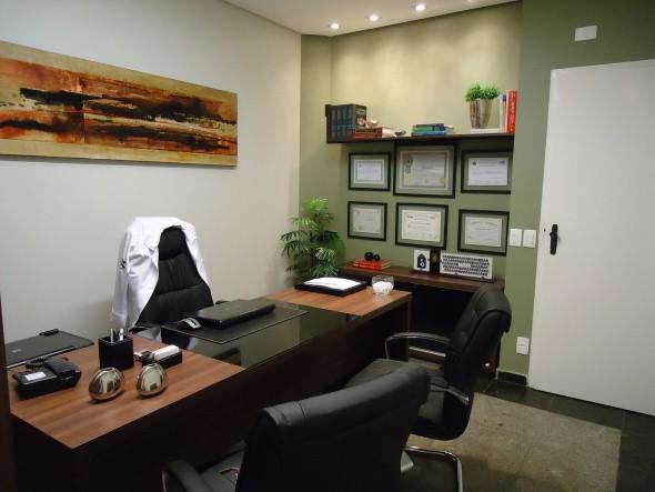 Decorar consultório ou escritório com plantas 005