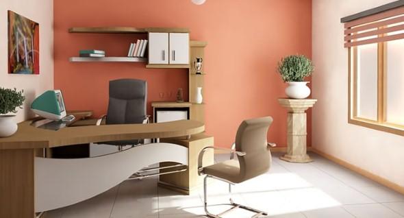 Decorar consultório ou escritório com plantas 008