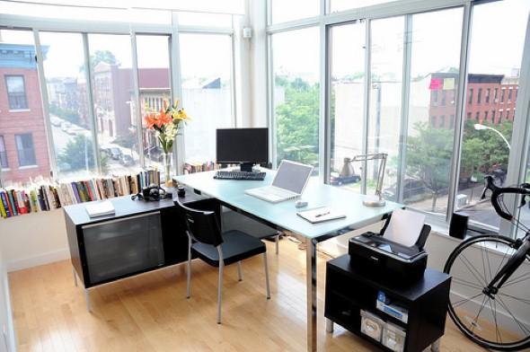 Decorar consultório ou escritório com plantas 011