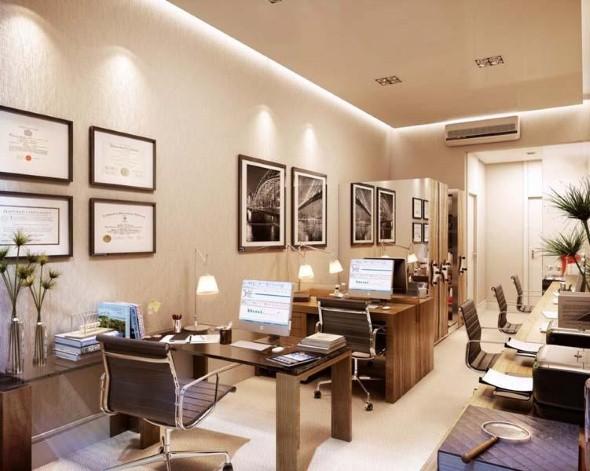 Decorar consultório ou escritório com plantas 012