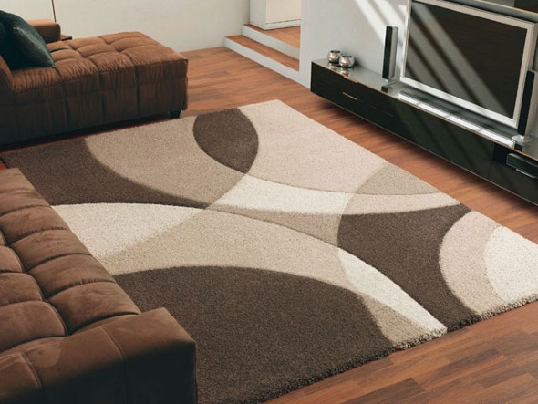 24 modelos de tapetes para decora o da sala for Alfombras para sala pequena