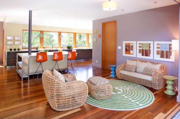 Sala De Jantar Com Tapete Redondo ~ 24 modelos de tapetes para decoração da sala