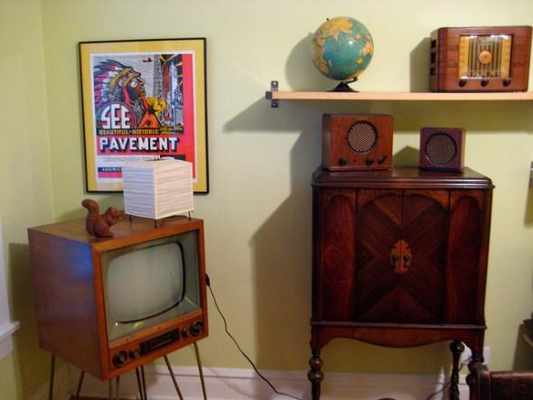 Usar eletrodomésticos antigos na decoração 008