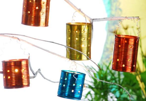 Como montar lanternas de lata para decoração 002