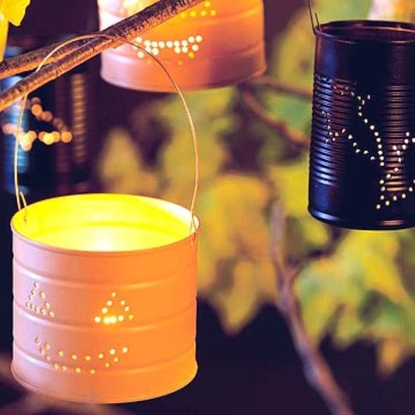Como montar lanternas de lata para decoração 005